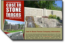 Cast in Stone Fences