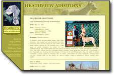 Heathview Irish Wolfhounds Web Site